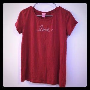 Tops - Love T-shirt